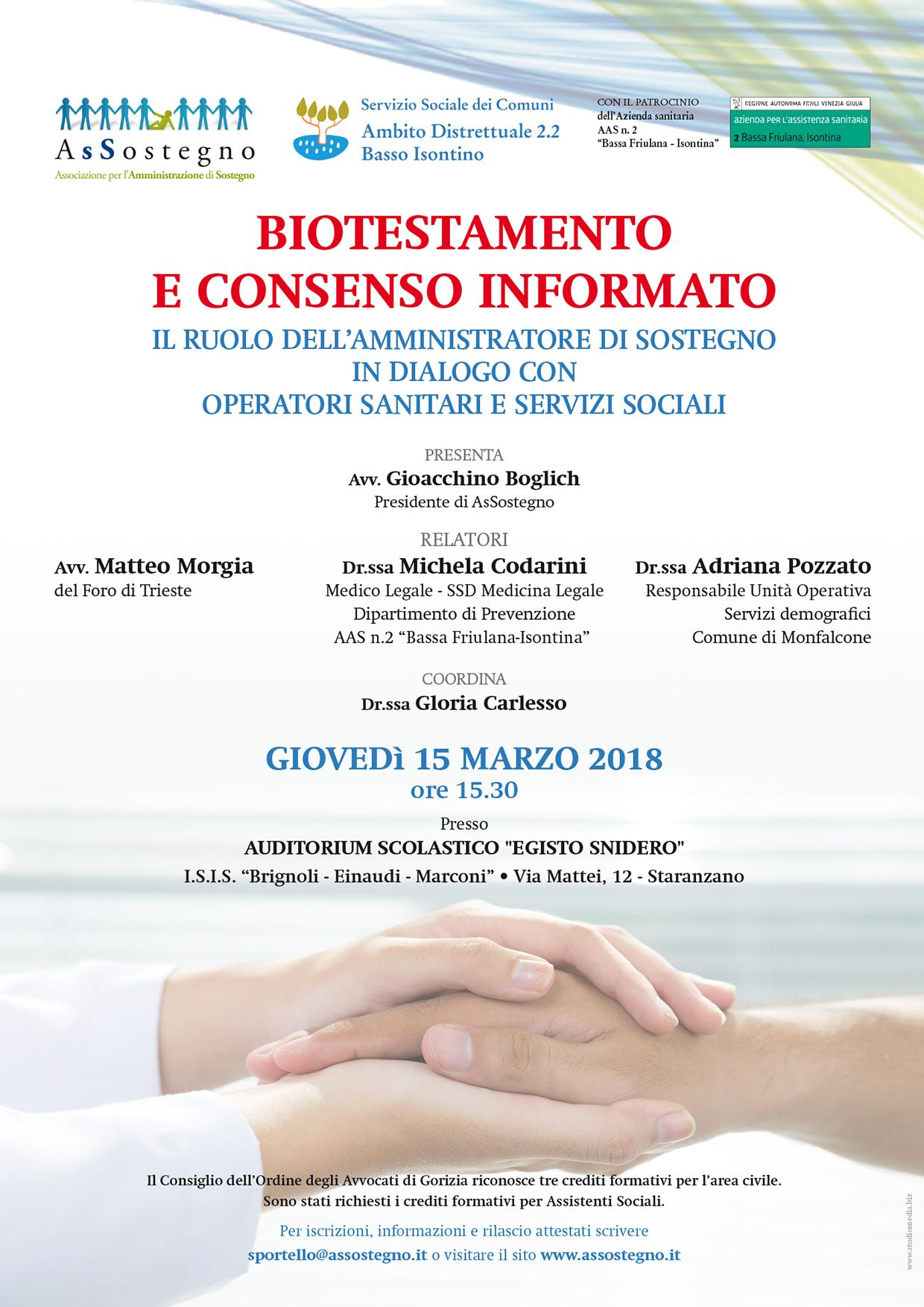 Assostegno BioT 2018